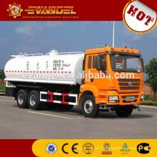 prix usine SHACMAN réservoir d'eau camion à vendre
