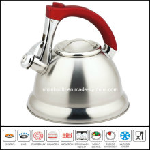 Stainless Steel Whistling Kettle Zinc Alloy Handle
