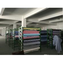 100% hilo de algodón teñido y tela de moda de impresión