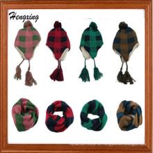 Sombreros y bufanda de punto promocionales (DSS172)