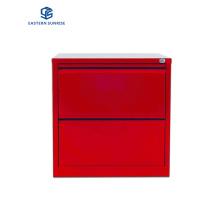 Metal Storage Key Locker 2 Drawer Cold-Roll Steel File Cabinet