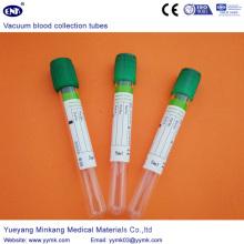 Tube d'héparine de tubes de prélèvement sanguin sous vide (ENK-CXG-028)