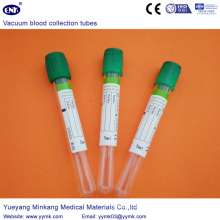 Vacuum Blood Collection Tubes Heparin Tube (ENK-CXG-028)
