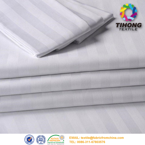 satin stripe medical fabric