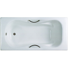 Drop-In Cast Iron Bathtub With Handle