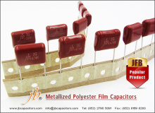 jb Popular Product JFB Metallized Polyester Film Capacitors