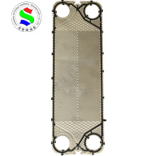 Success heat exchanger titanium sheet plate replace M15M