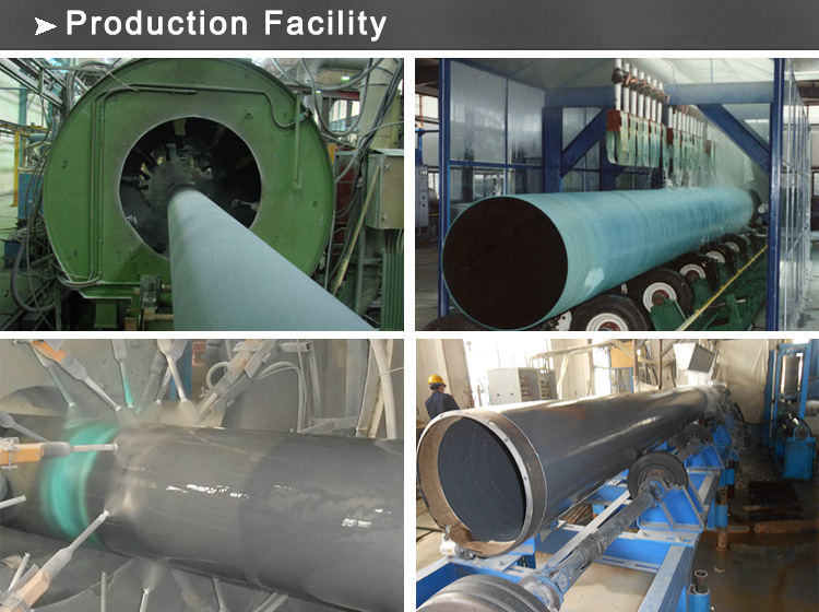 FBE coated pipe production facility