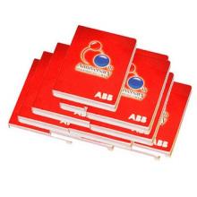 Notas adhesivas de calidad superior, notas adhesivas clasificadas. Bloc de notas rojo