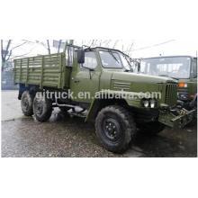 Dongfeng dunm truck military 6 * 6 camiones para la venta