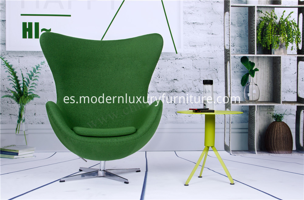 egg chair living room
