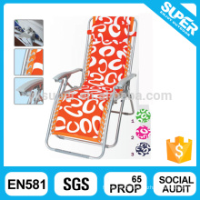 Colorful folding recliner sun lounger with cheap price
