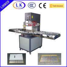 Plastic book cover making machine for A4 file