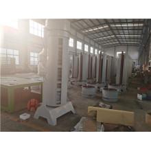 Ventilador em torre de fluxo axial de cilindro para linha de secagem de cascas