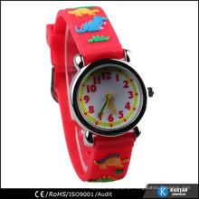 Crianças 3D relógio de banda japonês movimento sr626sw