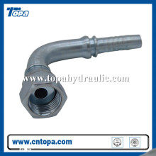 pressure aluminum swivel hose hydraulic barb fittings
