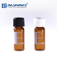 laboratory reagent bottle 2ml ember glass sterile vials for Shimadzu HPLC