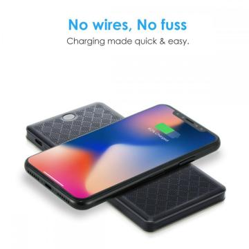 Type-C Wireless Charger Power Bank 2 in 1