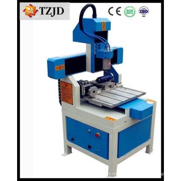 Routeur de commande numérique par ordinateur de machine de gravure en métal de haute précision