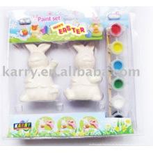 kit de pintura cerámica para niños