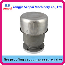 Fire Resistance Vacuum Pressure Valve