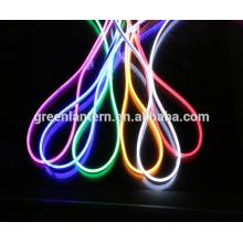 110 В/220 В гибкий Неон RGB светодиодные полосы света Водонепроницаемый, Multi Цвет изменяя RGB вел свет веревочки для украшения дома