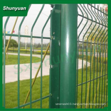 Top quality high quality pvc coated welded wire mesh fence