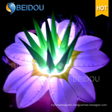 Wholesale Events Stages Wedding Party LED Decorations Lighted Inflatable Flowers