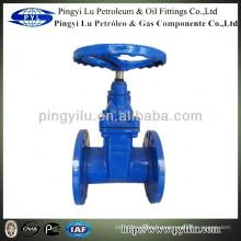 DIN PN16 vanne d'étanchéité souple en fonte ductile amc