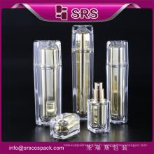 Chine Thaïlande Bouteille de Pigment Rouge Transparents Bouteille Acrylique Cosmétique Bouteille Design