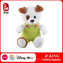 Brinquedo macio do animal enchido relativo à promoção com roupa