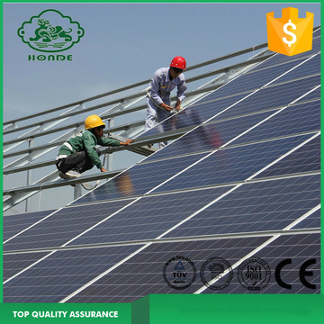 Green House Solar Panel Montaj Braketi