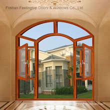 Energy Efficient Double Glazing Aluminum Casement Windows (FT-135)