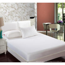 Hotel Qualität 100% Baumwolle Weiß König Königin Bettwäsche (WSFI-2016022)