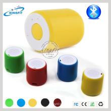 Haut-parleur rond de mini cadeaux promotionnels de haut-parleur de Bluetooth