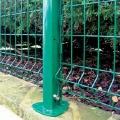 Clôture en treillis métallique soudé par jardin courbé 3D