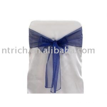 Navy Blue Chair Sash