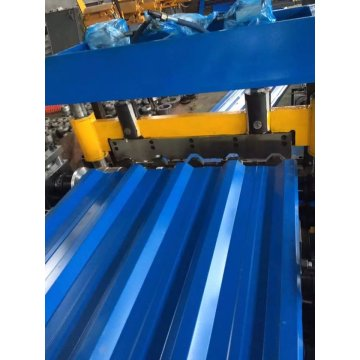 Trapezoide Roof Tile Roll Forming Machine