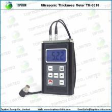Metro ultrasónico popular del indicador de grueso de la LCD TM-8818