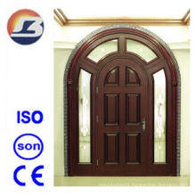 Luxurious Villa Meranti Wooden Door with Egg Design