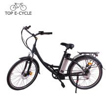 2017 CE nuevo diseño elegir bicicleta eléctrica ciudad barata bicicleta 250 W 36 V 10Ah batería e bicicleta