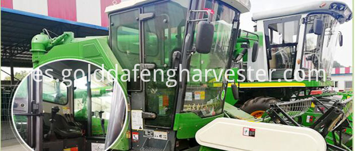 Self-propelled Full Feed Rice Combine Harvester--CAB