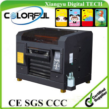 Multicolor A3 Digital Fatbed UV Printing Ink PVC Card Printer and Embossed Machine