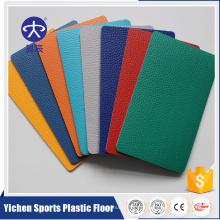 Yichen esportes piso preço promocional para tapete de badminton pvc