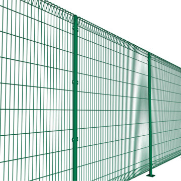 Ventas directas de la fábrica Roll Top BRC Welded Fence