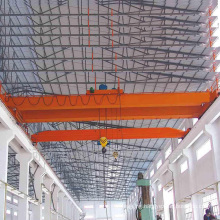 Qualified customized workshop electric lifting 20 ton overhead crane trolley