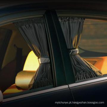 Comprimento 50 cm de Alta 47 cm 2 pçs / set Elastic Car Side Janela Sombrinha Cortinas Auto Janelas Cortina Pala de Sol Cortinas de Viseira carstyling