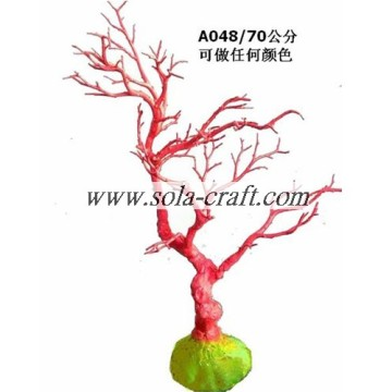 Sale Artificial Wedding Table Tree With Various Colors And Length 70CM