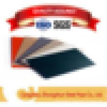 Plaques et bobines recouvertes de couleurs pré-imprégnées de gi pour la construction