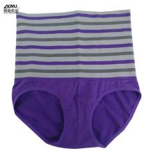 New Style Women Seamless Purple High Waist Panties